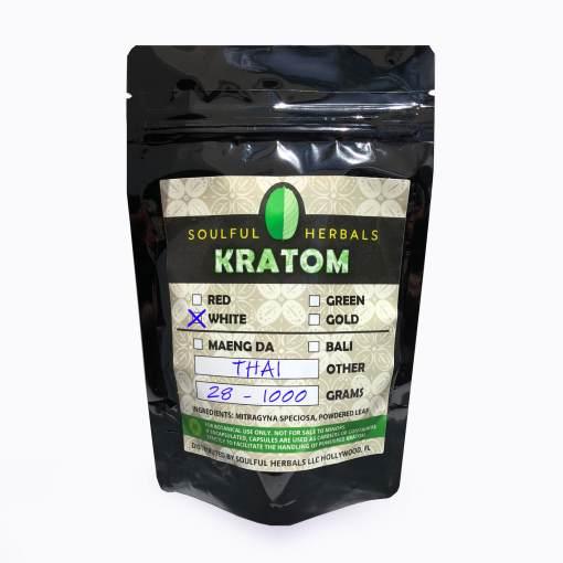 White Thai Kratom Powder for Sale