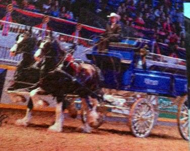 Chuck wagon at Cloverdale Rodeo, BC, Canada - taken by Glynn Manyirons, Canada
