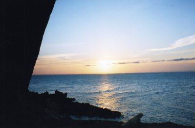 Sunset at Amity Point, Stradbroke Island, Queensland, Australia - taken by Sue Ellam, London