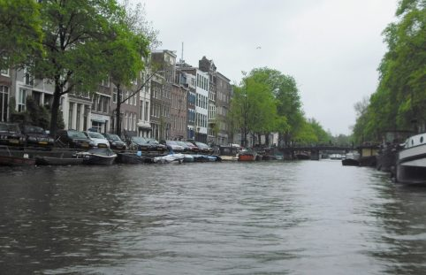 A trip on an Amsterdam canal. Taken by Peter Thompson, UK.
