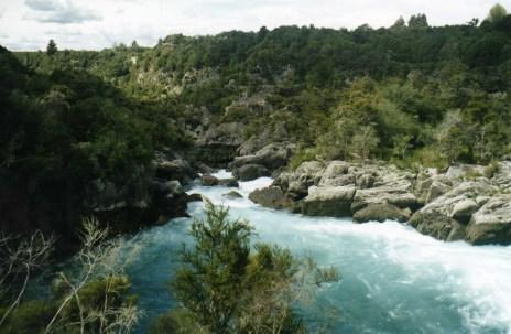 A glorious river in New Zealand taken by Sue Ellam, London, UK