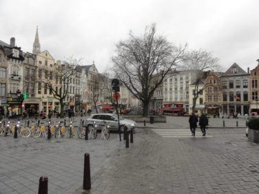 Rainy February day in Brussels. Taken by Peter Thompson