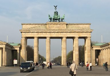 Brandenburg Gate, Berlin. Taken by Peter Thompson.