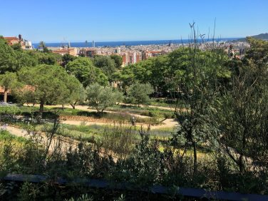 View over Park Güell in Barcelona, Spain. Taken by Ervin Corzo.