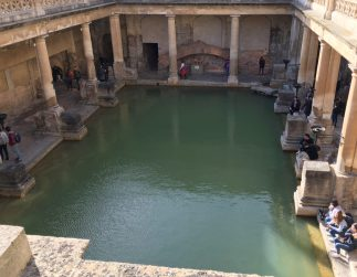 Roman bath, Bath, Somerset, UK. Photo taken by Ervin Corzo.