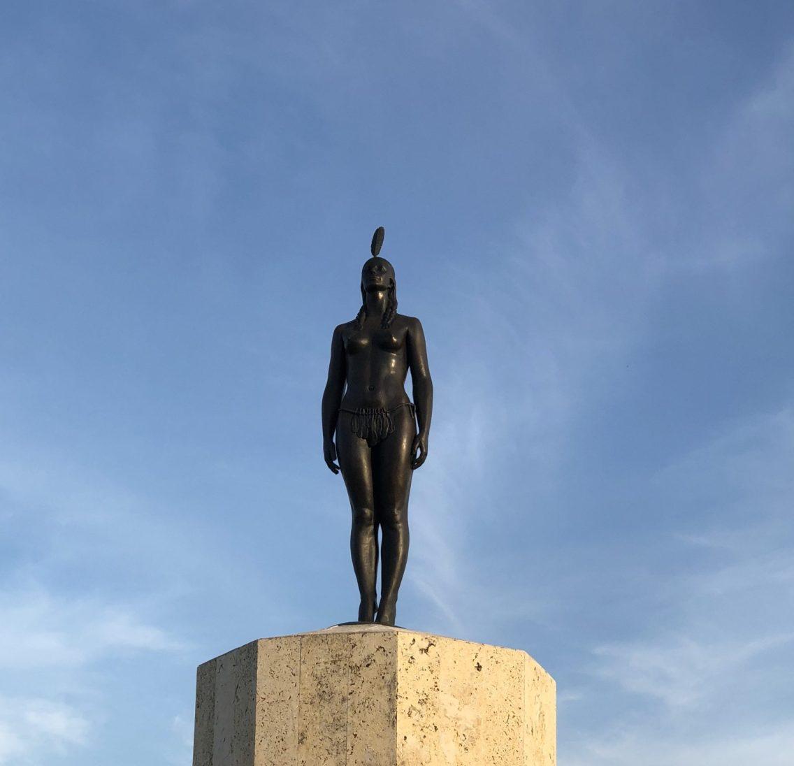 India Catalina statue, Cartagena, Colombia. Taken by Ervin Corzo