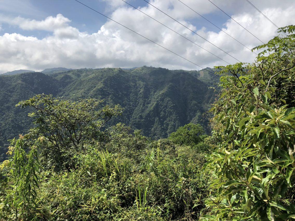 View of farming land, Santander, Colombia. Taken by Ervin Corzo