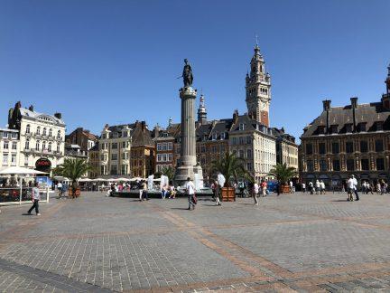 Place du Général de Gaulle, Lille, France. Taken by Ervin Corzo