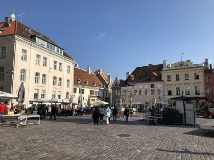 Raekoja Plats, Tallinn, Estonia. Taken by Peter Thompson