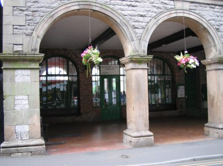 Arches in a market town in Shropshire, UK taken by Sue Ellam, UK