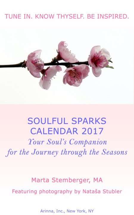 Yes, I want the Soulful Sparks Calendar 2017