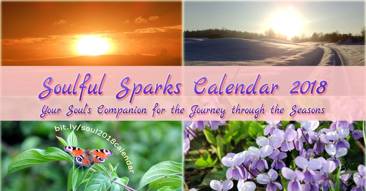Soulful Sparks Calendar 2018