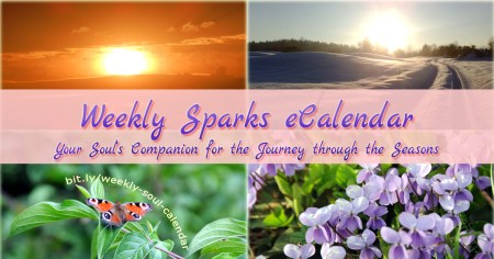 Soulful Sparks Weekly eCalendar for 2018 and beyond