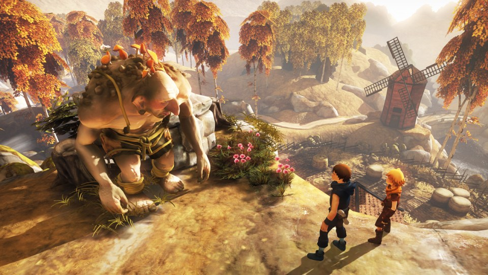 Brothers A Tale of Two Sons - In Game