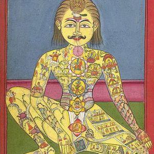 chakras on the body - desk yoga and yogic eye exercises
