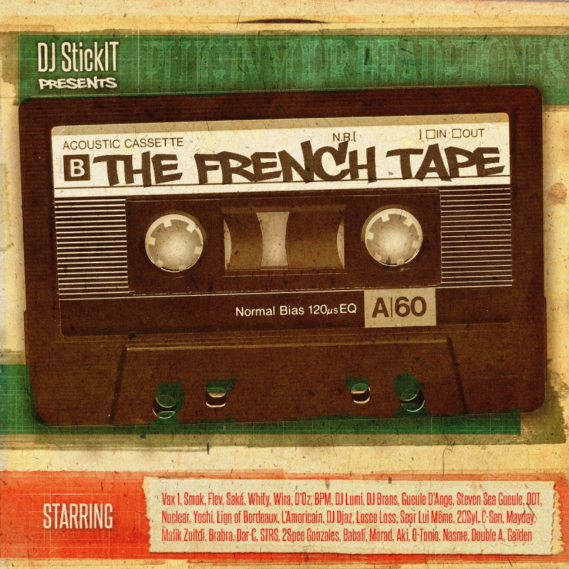 DJStickIT-TheFrenchTap-FrontCover