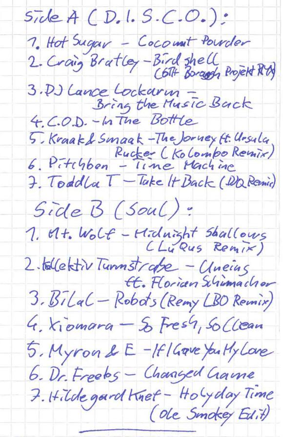 _tasmo-tracklist