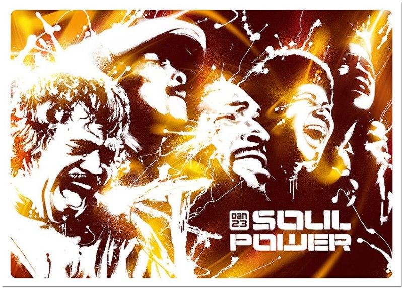 Artwork: DAN23 // SOUL POWER // 80 X 60 CM // 2011 // www.dan23.com