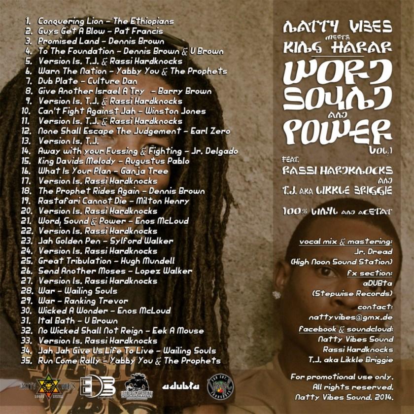 Word, Sound & Power #1