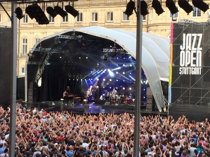 Jamie Cullum live jazzopen stuttgart 2014