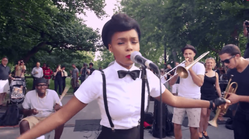 Janelle Monae Music in the Streets