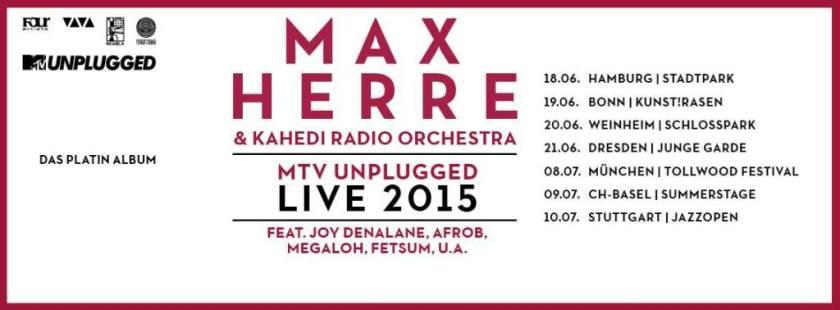 max herre live