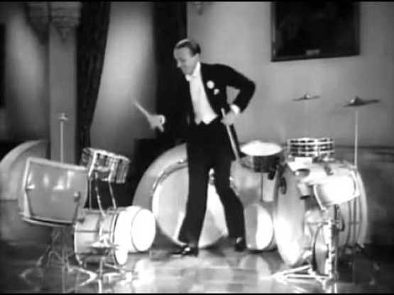 Fred Astair's Famous Tap Dance Drum Solo