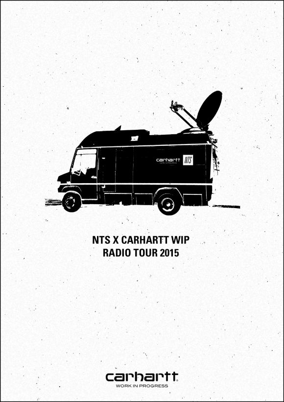 NTS x Carhartt WIP Radio on tour