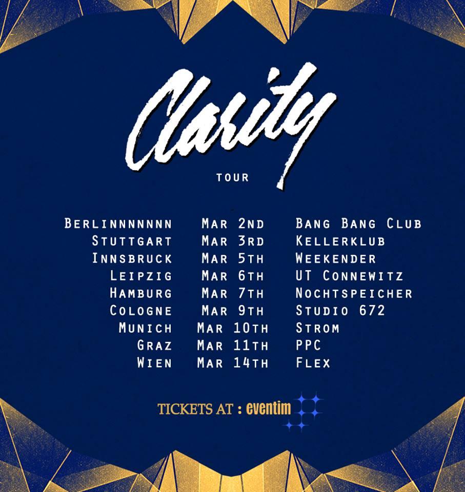 clarity tour