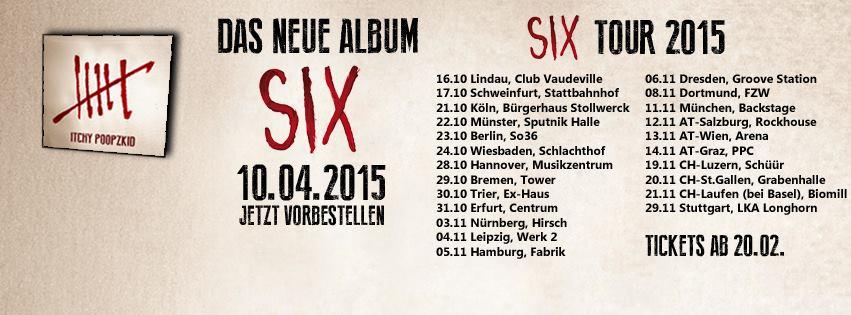 six tour 2015