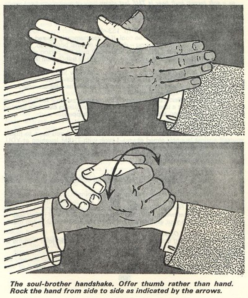 soul brother handshake