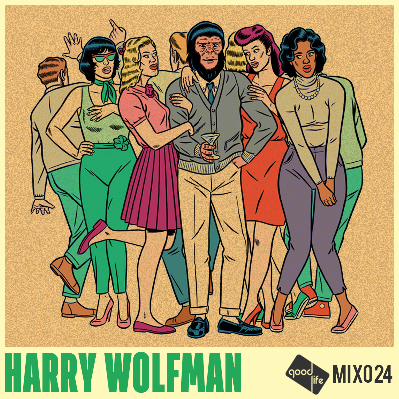 Good Life Mix 024 Harry Wolfman (free mixtape)