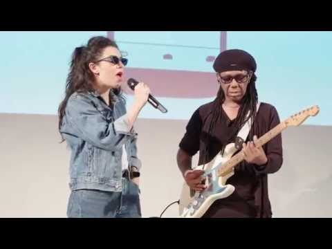 Exclusive Charli XCX live performance of BoomClap featuring Nile Rodgers at #MixRadioLive