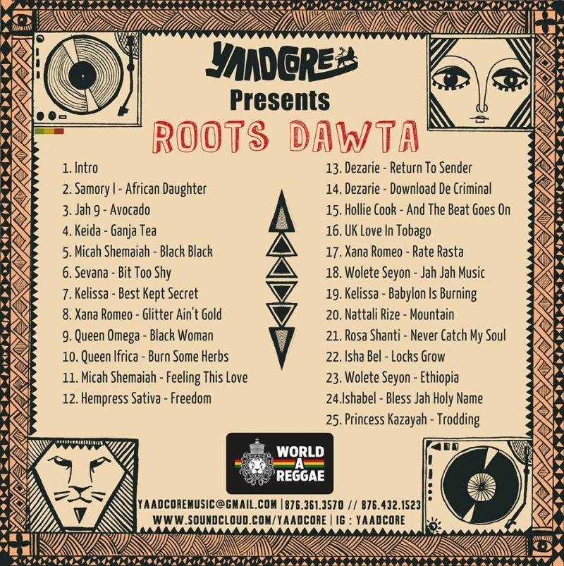 Roots Dawta tracklist