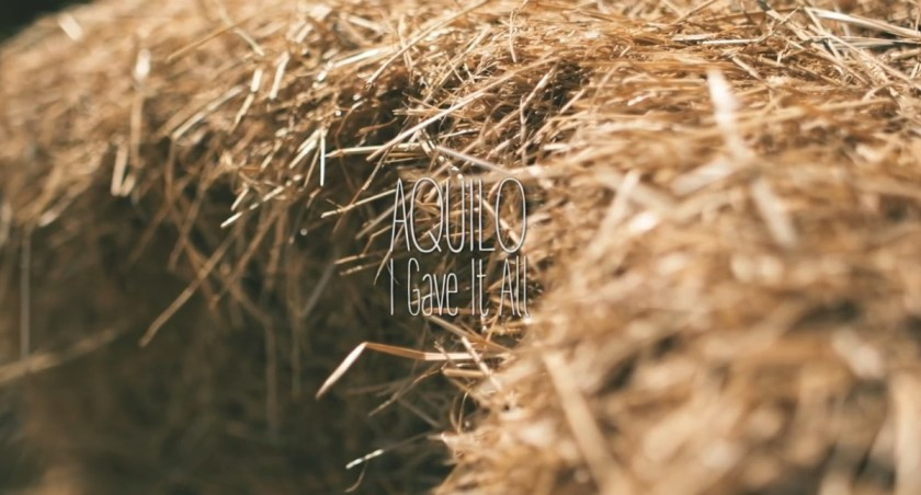 Aquilo -- I Gave It All