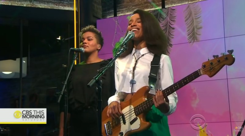 Lianne La Havas CBS This Morning - Saturday Sessions