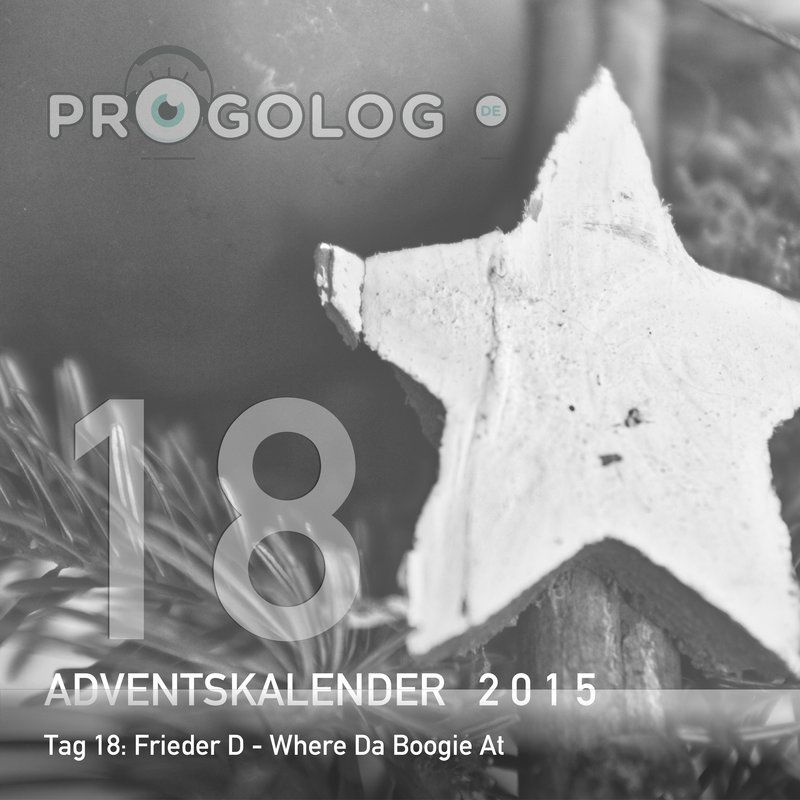 Frieder D – Where Da Boogie At