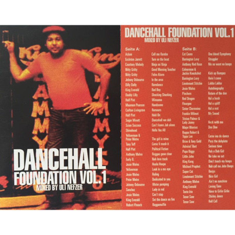 Sentinel Sound Pres. Dancehall Foundation Vol 1 [mixed By Uli Nefzer]