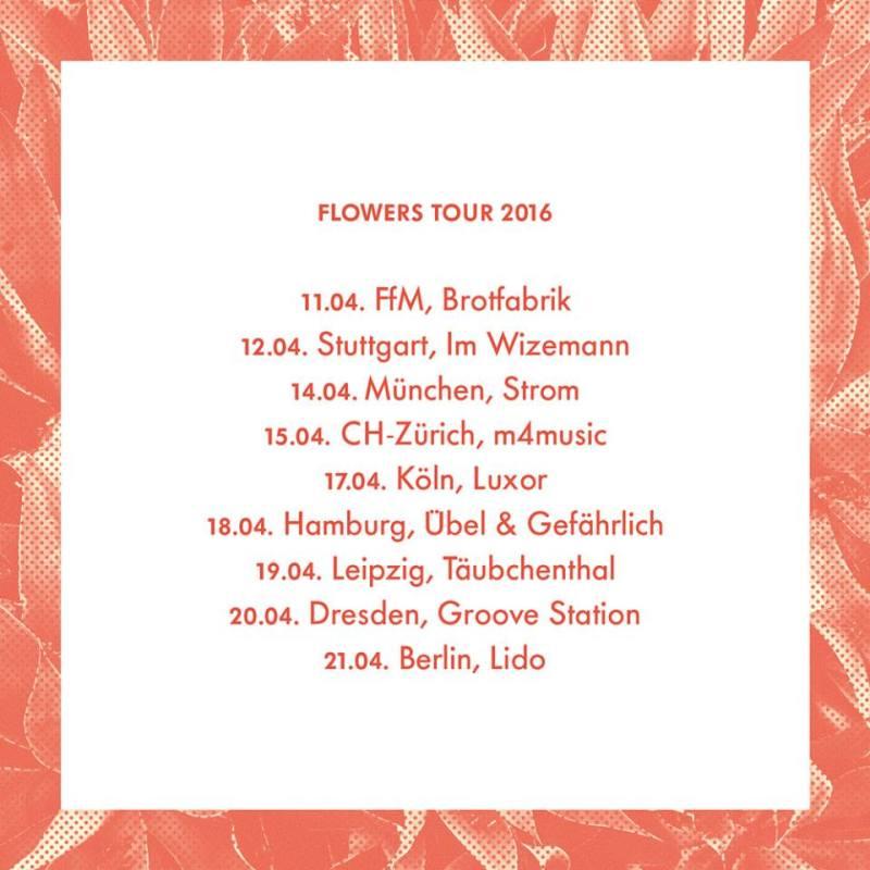 flowers tour 2016