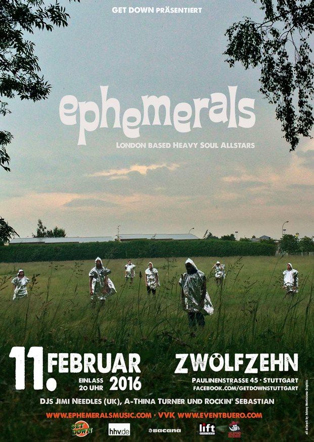 EPHEMERALS (UK) - live in Stuttgart