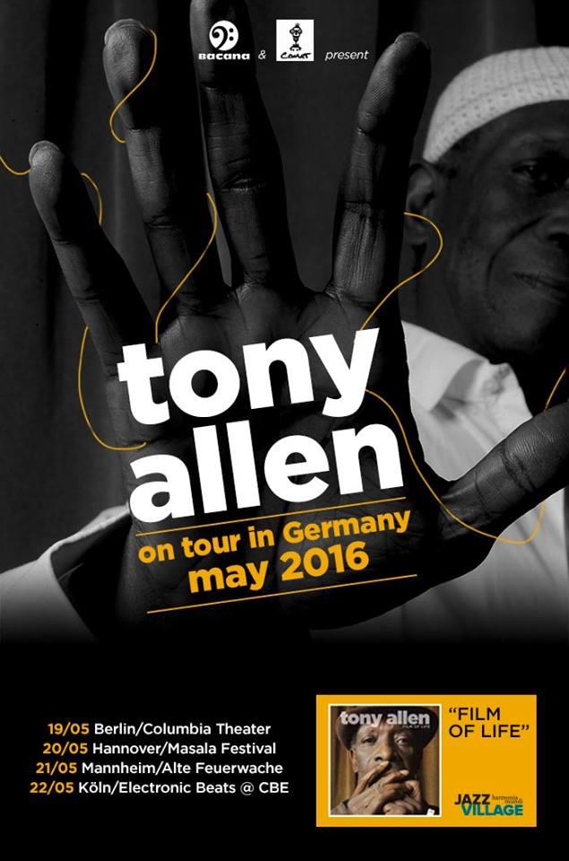 tony allen on tour in germany 2016t