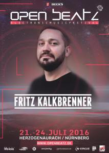 Ready for FRITZ KALKBRENNER at ‪#‎ob16‬ ?? Get the last tickets!