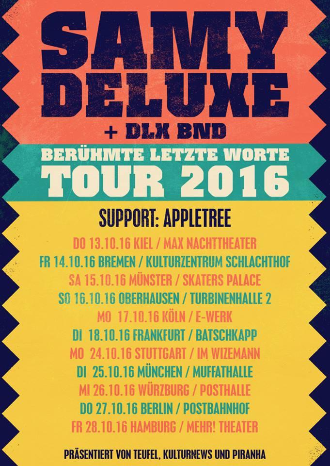 BERÜHMTE LETZTE (W)ORTE TOUR