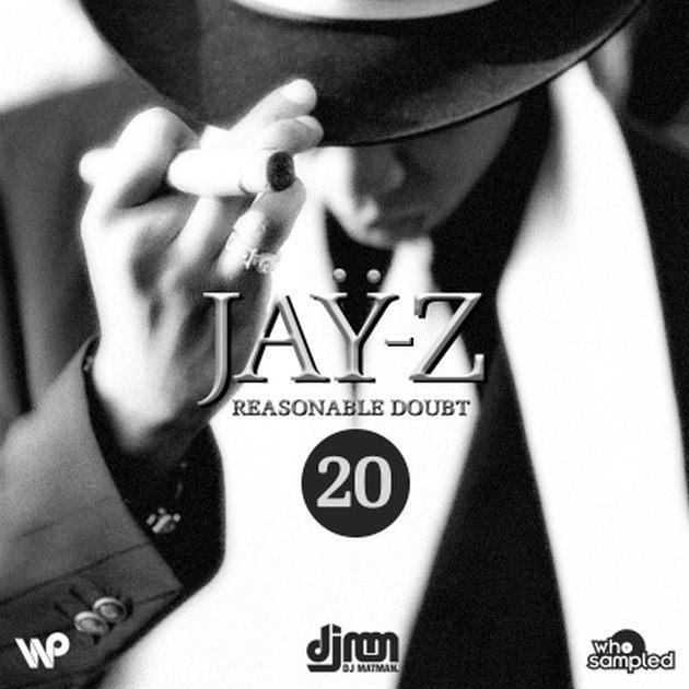 Jay-Z 'Reasonable Doubt' 20th Anniversary Mixtape