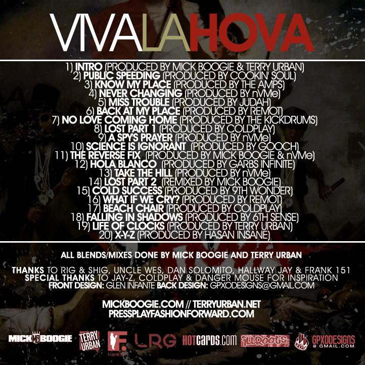 Viva La Hova Tracklist