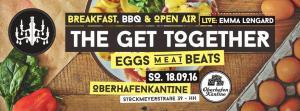 """Veranstaltungstipp: Erstes """"Eggs Meat Beats"""" Open Air in Hamburg - Frühstück, BBQ und Open Air in der Oberhafen-Kantine"""