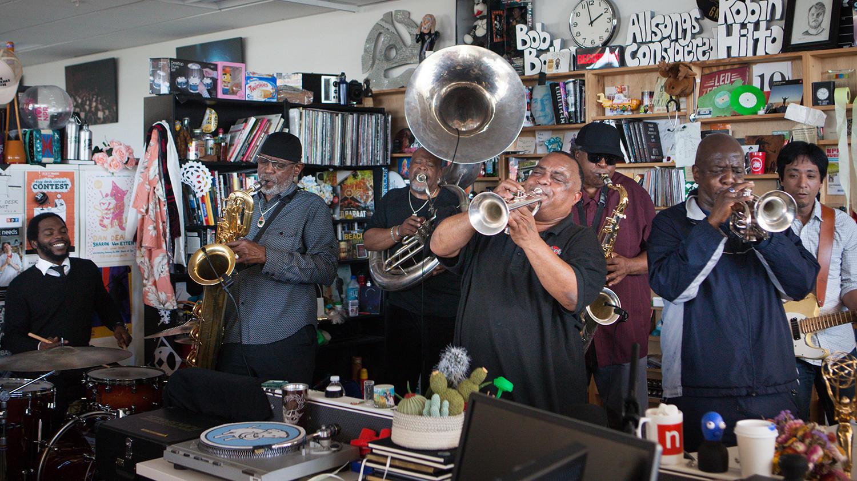 Dirty Dozen Brass Band: Tiny Desk Concert (Video)