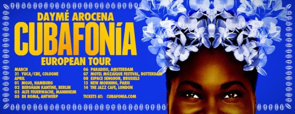 Happy Releaseday: Daymé Arocena – Cubafonia // full Album stream+ Tourdaten