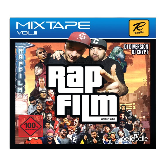 DJ DIVERSION & DJ CRYPT - RAPFILM! Mixtape Vol.III  (full stream)