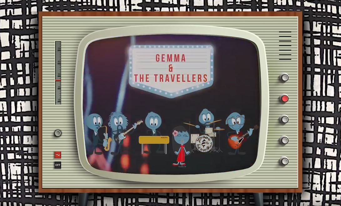 GEMMA & THE TRAVELLERS - I KEEP ON THINKING (animated video)